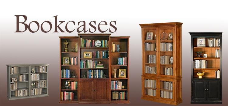 Right Rustic Bookcase