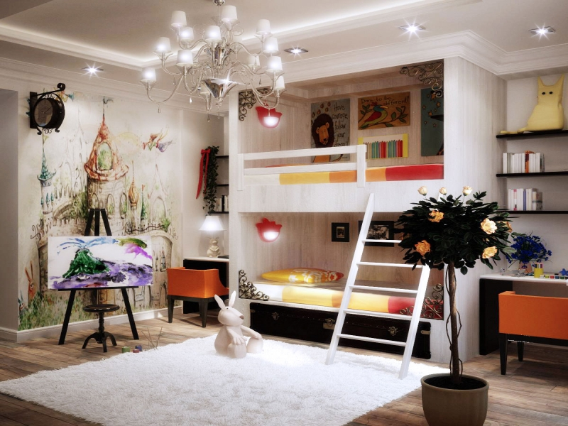 Top 10 Design & Decor Ideas for Kids Bedroom - Latest & Modern
