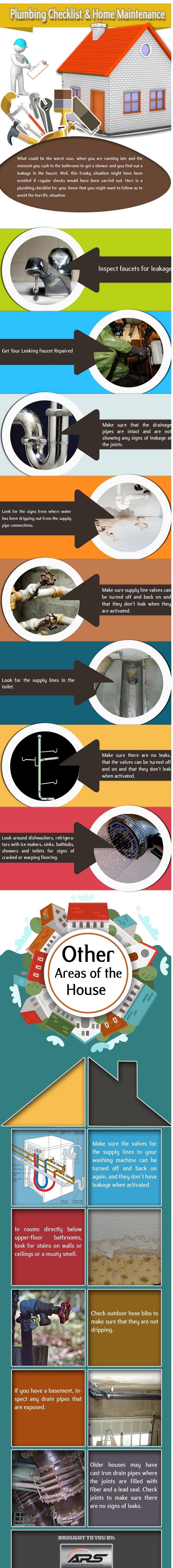 home inspection plumbing checklist