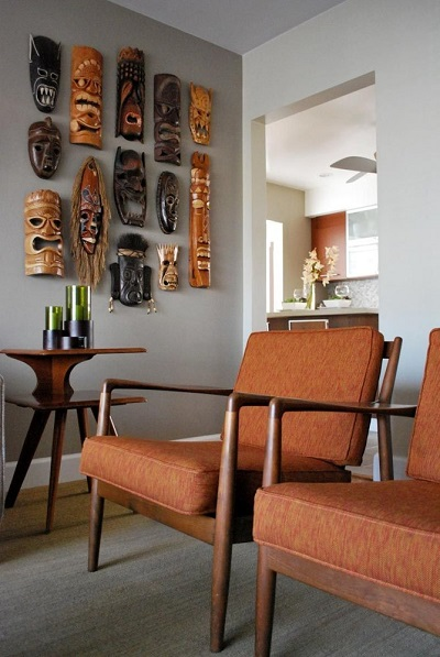African designs chairs