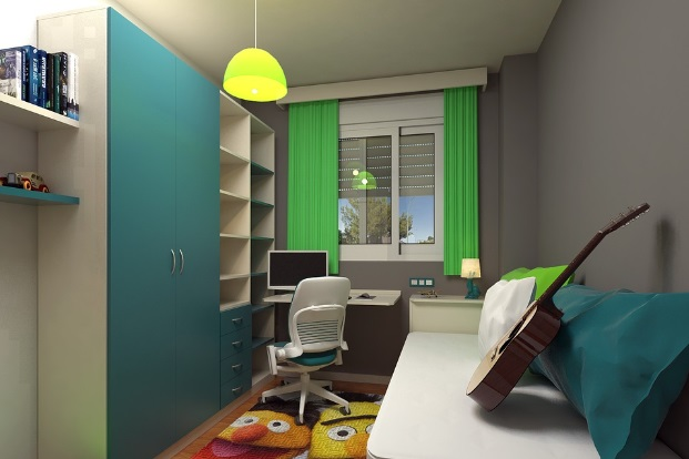 Small Bedroom Sleep Oasis