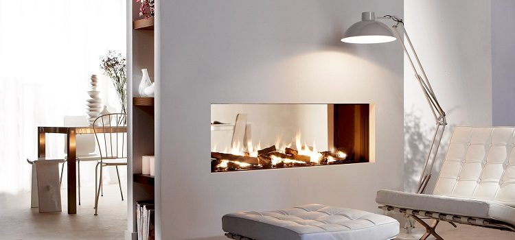 designer fireplace