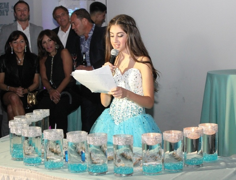 candle lighting for bat mitzvah