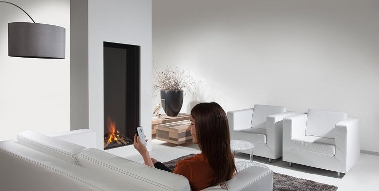 An electric fireplace cannot be repaired.