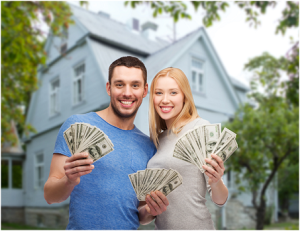 money with real estate property