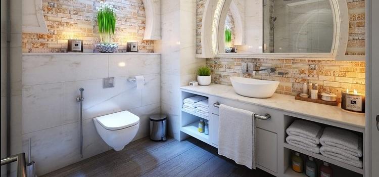 Bathroom Corner Seat