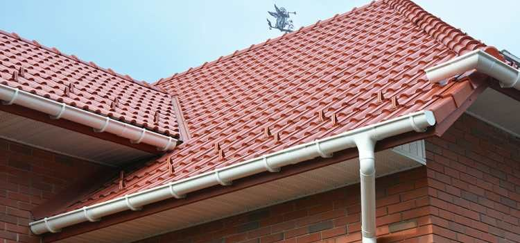 galvanized roof gutters