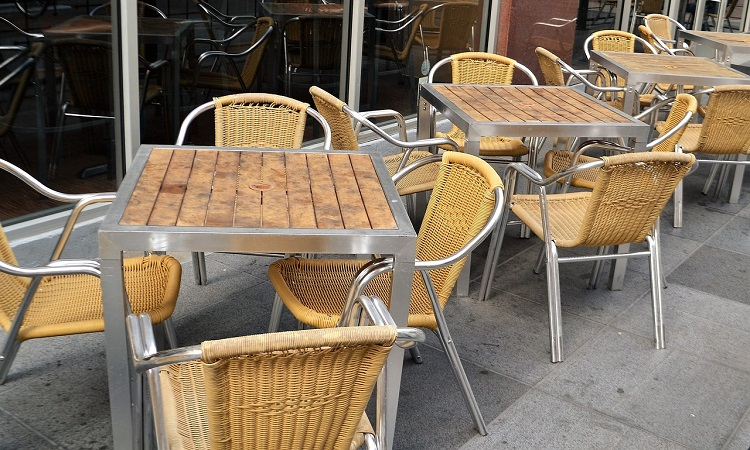 tables for cafe