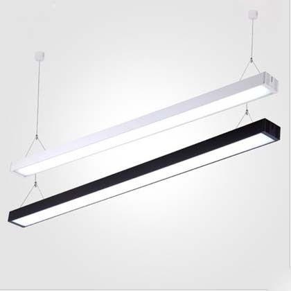 hanging rod ceiling light