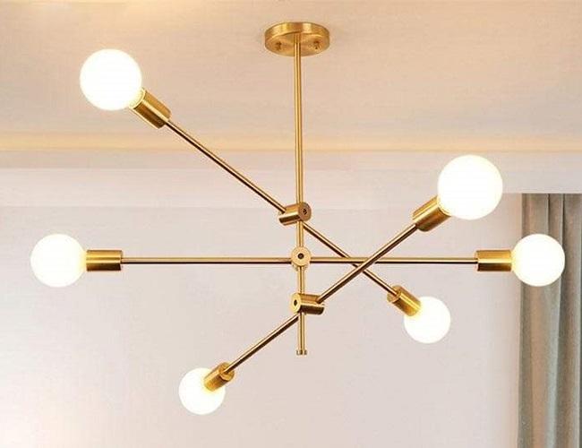 rotating decorative ceiling lamp