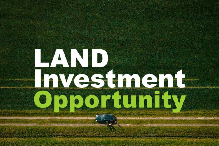 how can i find land investment opportunity