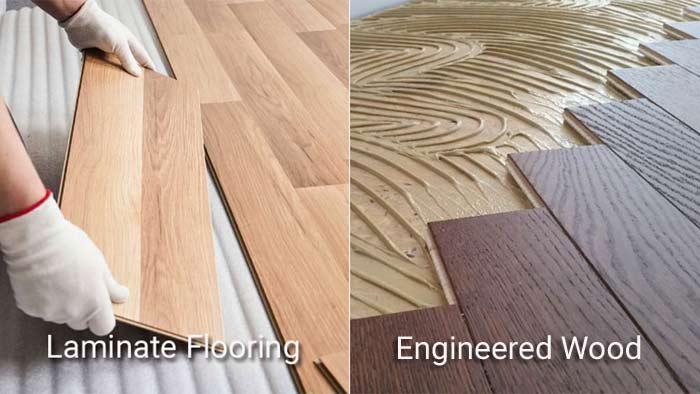 Laminate vs Engineered-Wood flooring