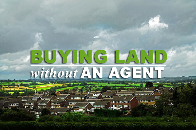 buying land without a real estate agent
