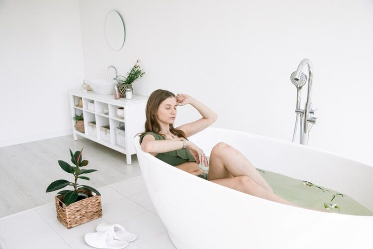 transforming your bathroom into a space for meditation